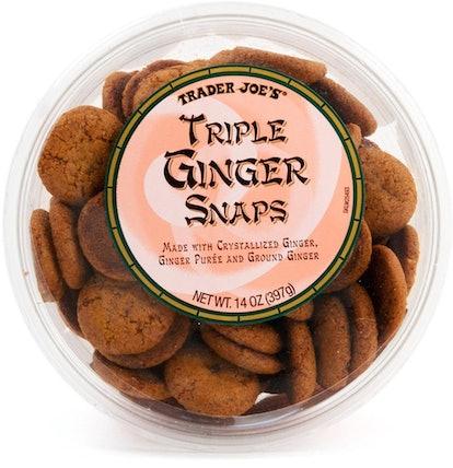 Trader Joe's Triple Ginger Snap Cookies.