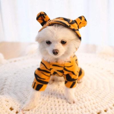 Tiger Pet Hoodie Costume