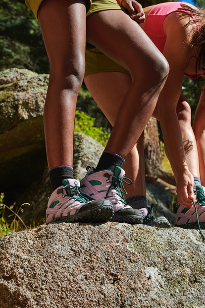 Outdoor Voices and Merrell have released new versions of the Moab hiking boot.