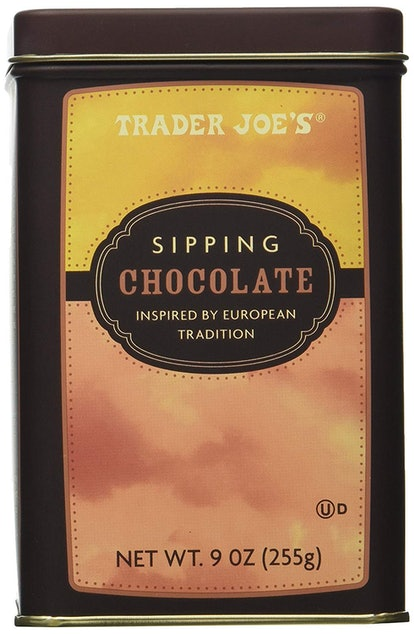 Trader Joe's Sipping Chocolate Mix.