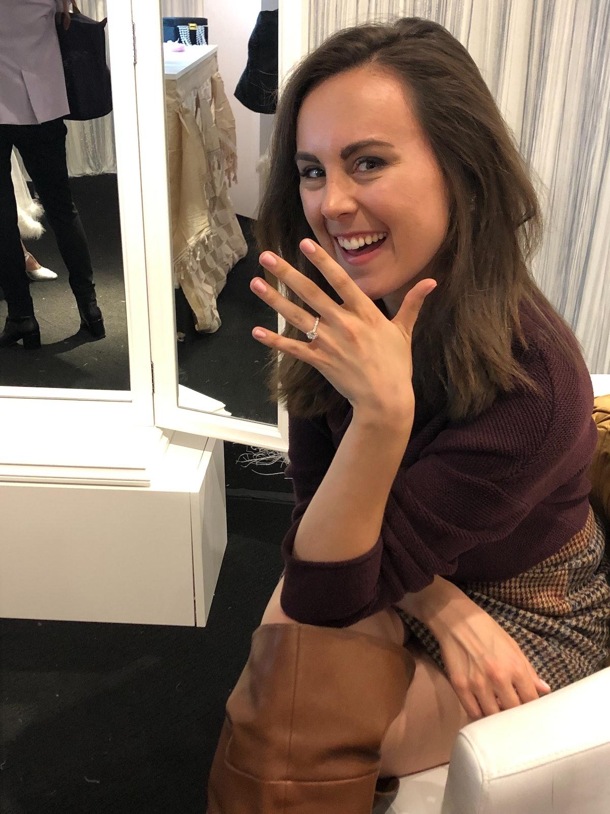 trying on Neil Lane rings made me feel like a Bachelor star