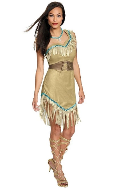 Disney Princess Pocahontas Women's Deluxe Costume
