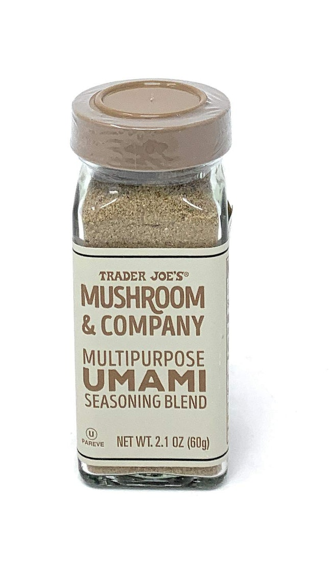Trader Joe's Mushroom & Company Umami Seasoning Blend.