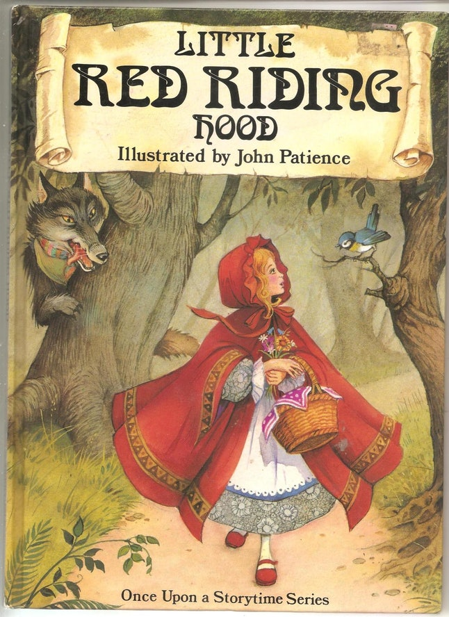 How to dress as Little Red Riding Hood and the Big Bad Wolf for a matching dog and owner Halloween costume.
