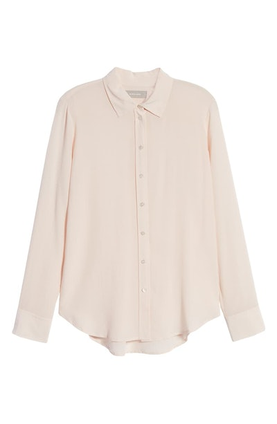 The Clean Silk Relaxed Shirt