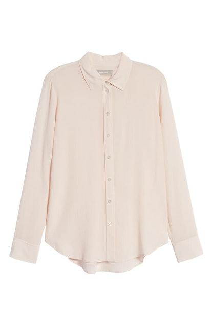 The Clean Silk Relaxed Shirt