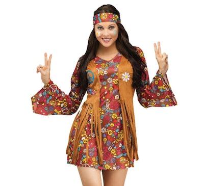 Peace & Love Hippie Adult Costume