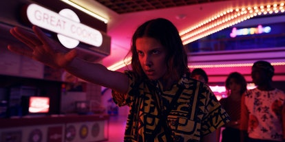 Eleven, played by Millie Bobby Brown , faces danger in Stranger Things 3