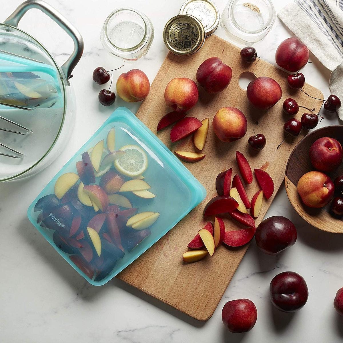 Stasher Silicone Reusable Food Bags