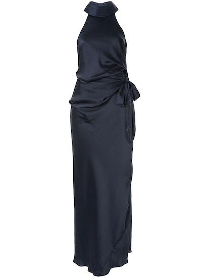 Antonelli Halter Neck Gown