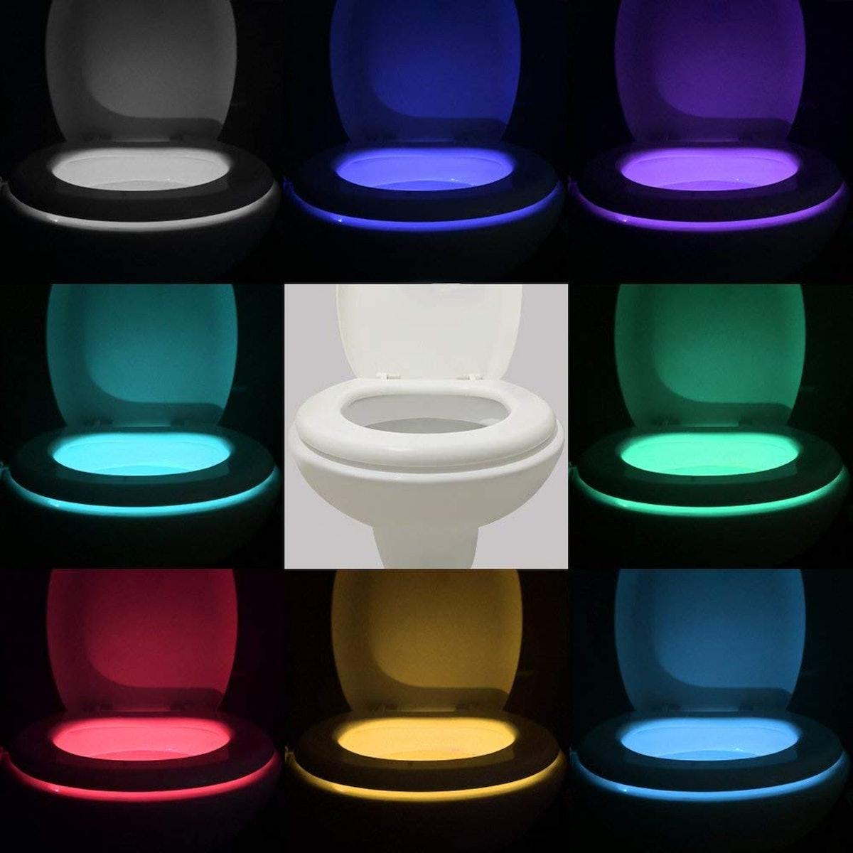 Vintar Motion Sensor LED Toilet Night Light (2-Pack)
