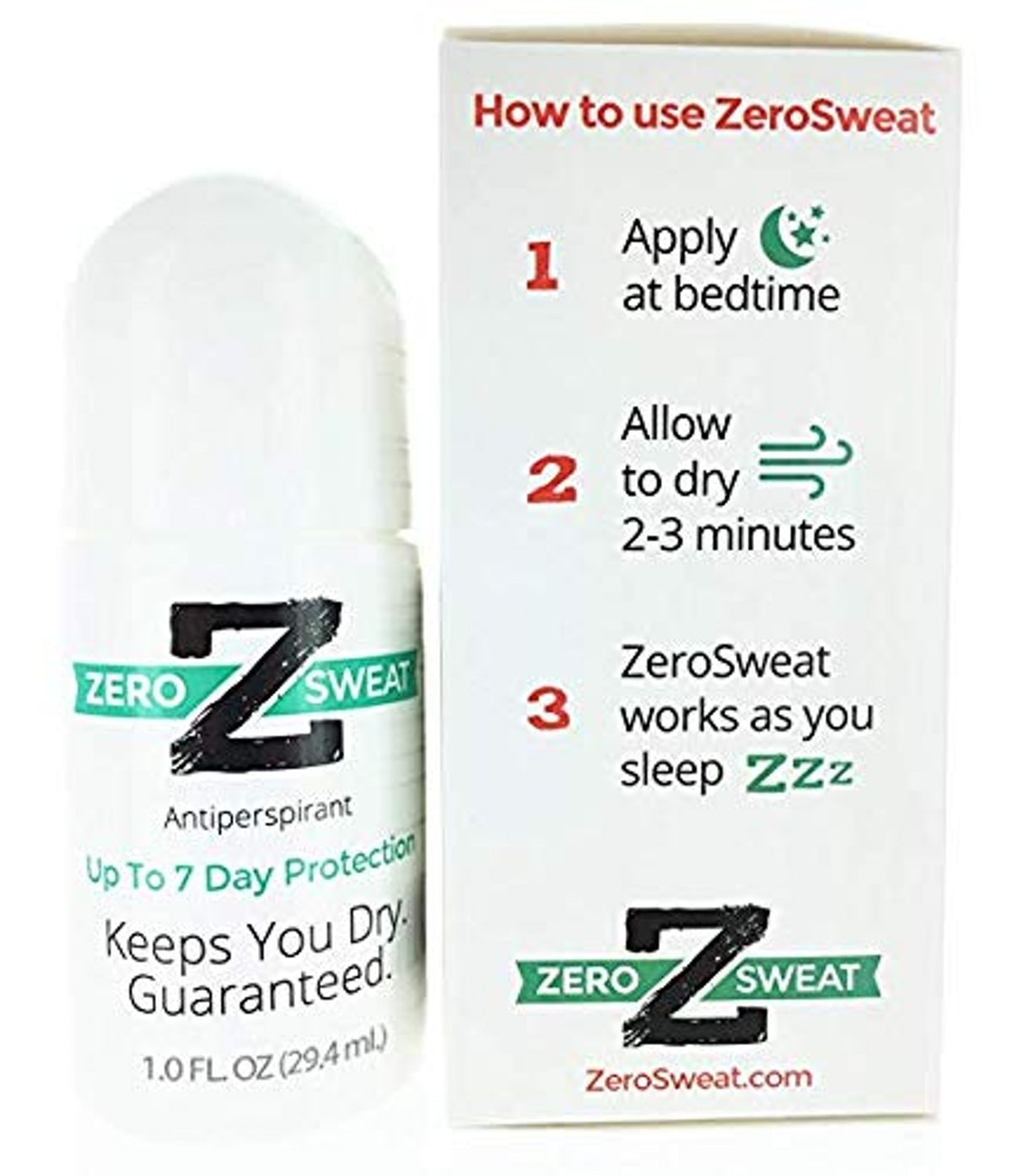 ZeroSweat Antiperspirant Deodorant