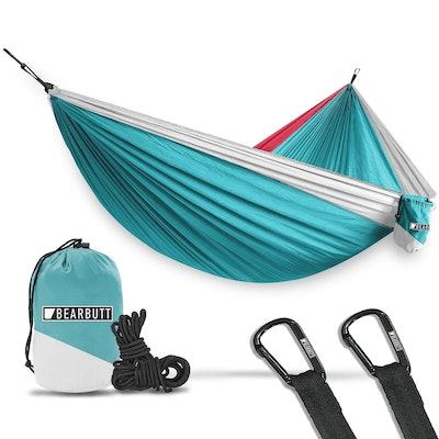 Bear Butt Hammocks - Camping Hammock for Outdoors, Backpacking & Camping Gear - Double hammock, Port...