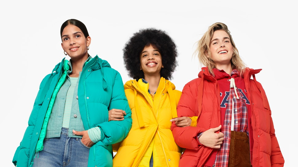 Gap launches its first-ever sustainably-made puffer coat for it's Fall/Winter 2019 collection