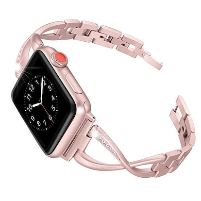 Secbolt Stainless Steel Band Compatible Apple Watch Band