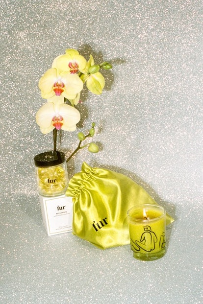 Fur's Bath Bundle includes a candle and the brand's new bath drops for ultimate relaxation.