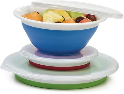 Progressive Prepworks Thinstore Collapsible Storage Bowls (Set Of 3)