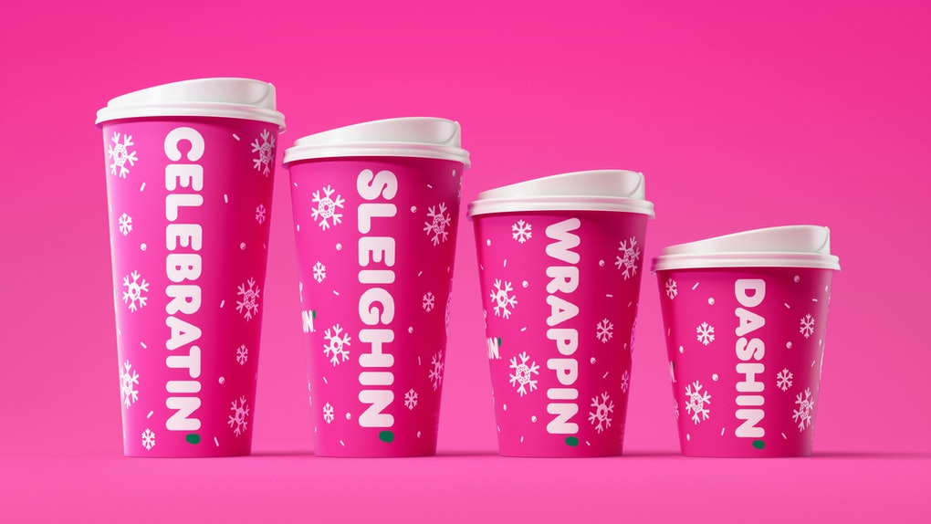 Dunkin's Holiday 2019 Drinks include the return of the fan-favorite Peppermint Mocha.