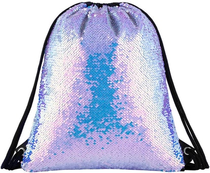Segorts Mermaid Reversible Drawstring Bag
