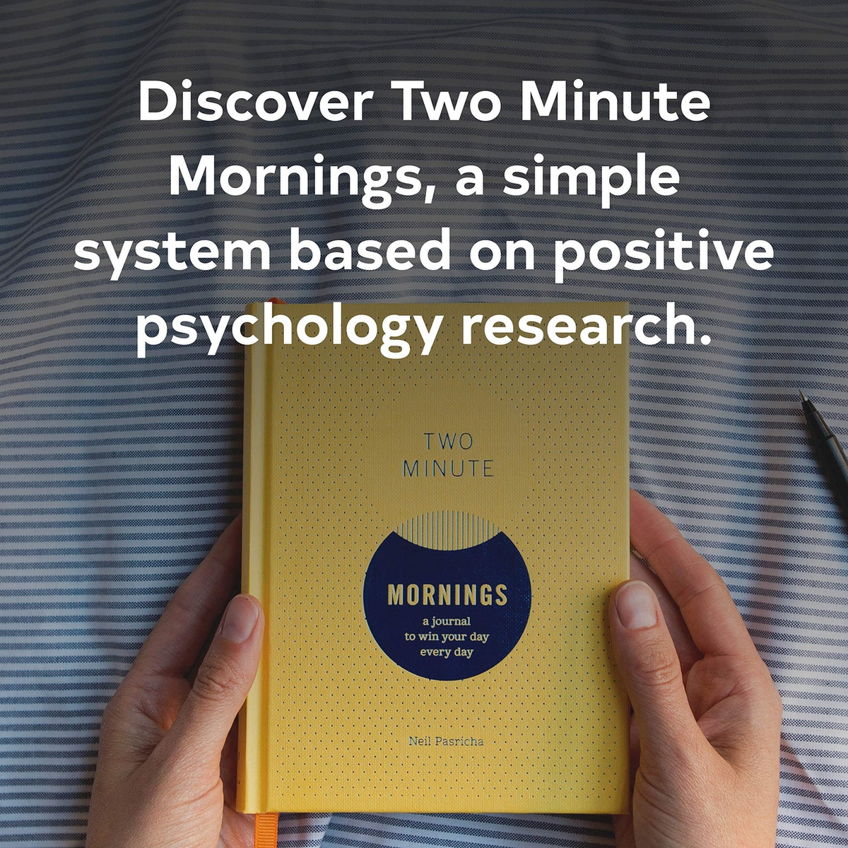 Two Minute Mornings: A Journal to Win