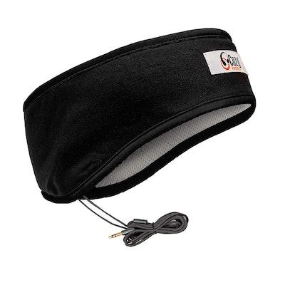 CozyPhones Sleep Headphones & Travel Bag, Lycra Cool Mesh Lining and Ultra Thin Speakers