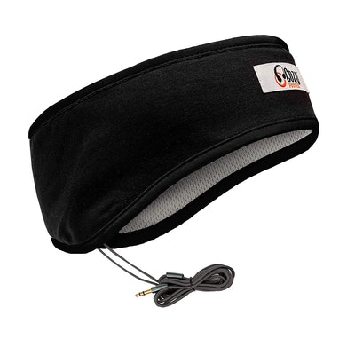 CozyPhones Sleep Headphones & Travel Bag, Lycra Cool Mesh Lining and Ultra Thin Speakers