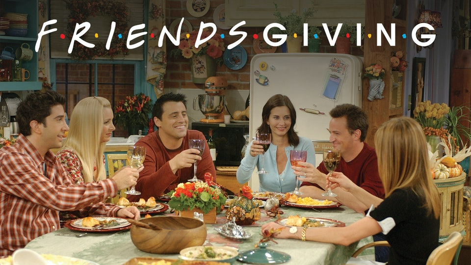 'Friends' Thanksgiving episodes will play in theaters across the United States as part of a special Friendsgiving celebration.