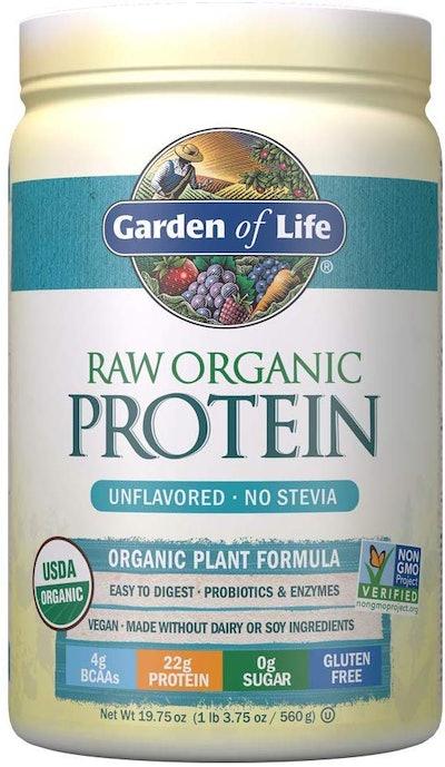 Garden of Life Raw Organic Unflavored Protein Powder