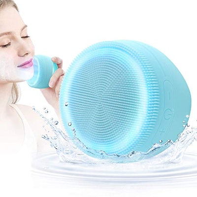 CHITRONIC Sonic Vibrating Facial Cleansing Silicone Brush