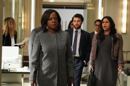 Annalise heads to the office on 'HTGAWM'.