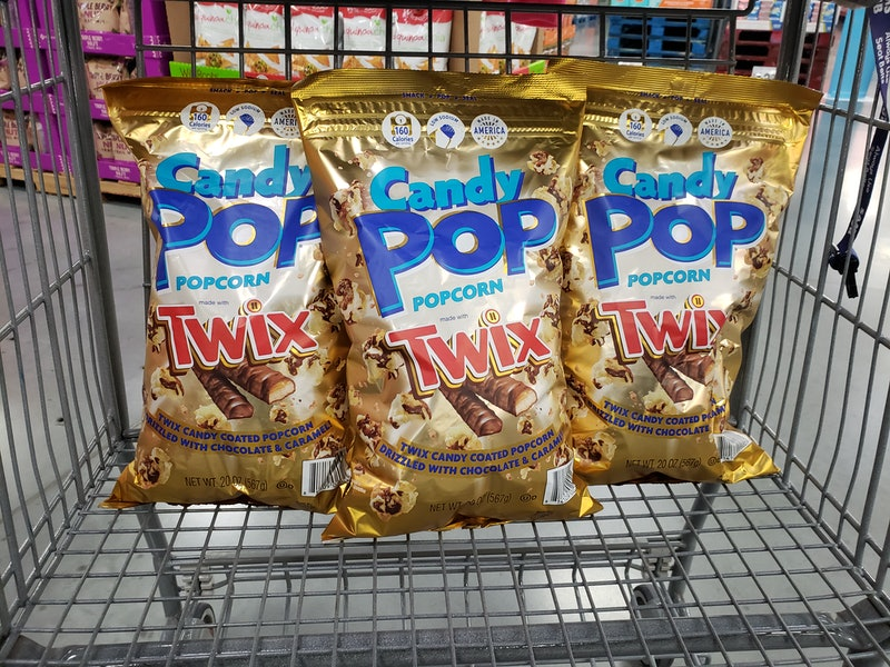 Twix Popcorn just hit shelves at Sam's Club.