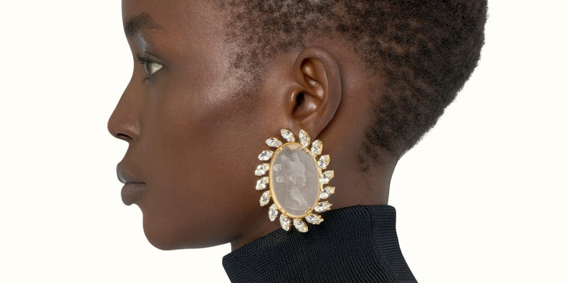 Cameo earring from Fenty