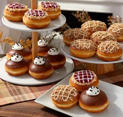 Krispy Kreme holiday pie-inspired doughnuts for Thanksgiving