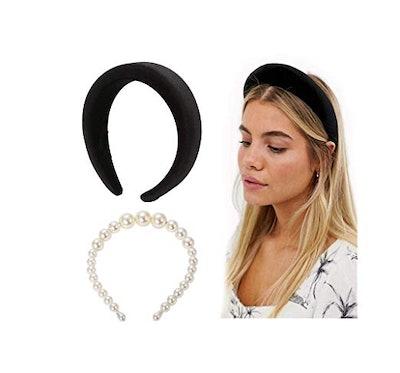 POPINK Womens Padded Headbands (2-Piece Set)