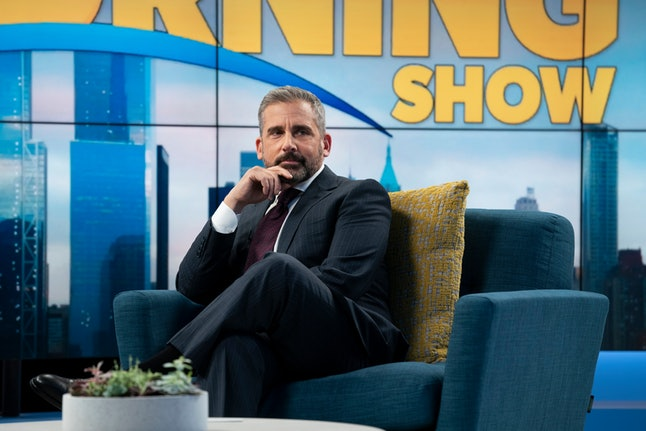 Steve Carrell in The Morning Show