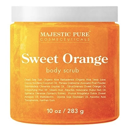 Majestic Pure Sweet Orange Body Scrub
