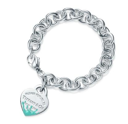 Color Splash Heart Tag Bracelet
