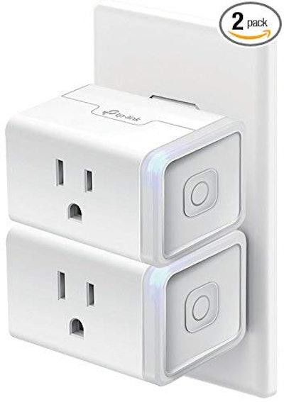 Kasa Smart WiFi Plug Mini by TP-Link (2-Pack)