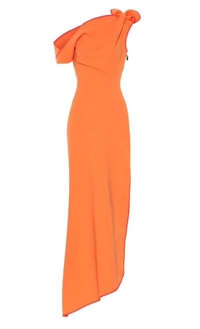Slinger One-Shoulder Gown