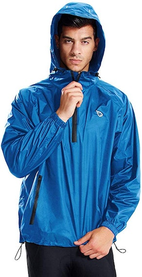 Baleaf Men's Cycling And Running Rain Jacket