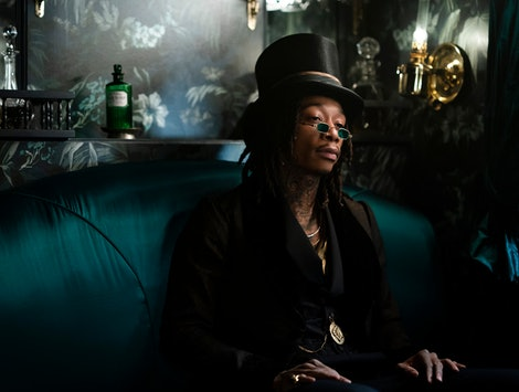 Wiz Khalifa's 'Dickinson' character is the personification of death.