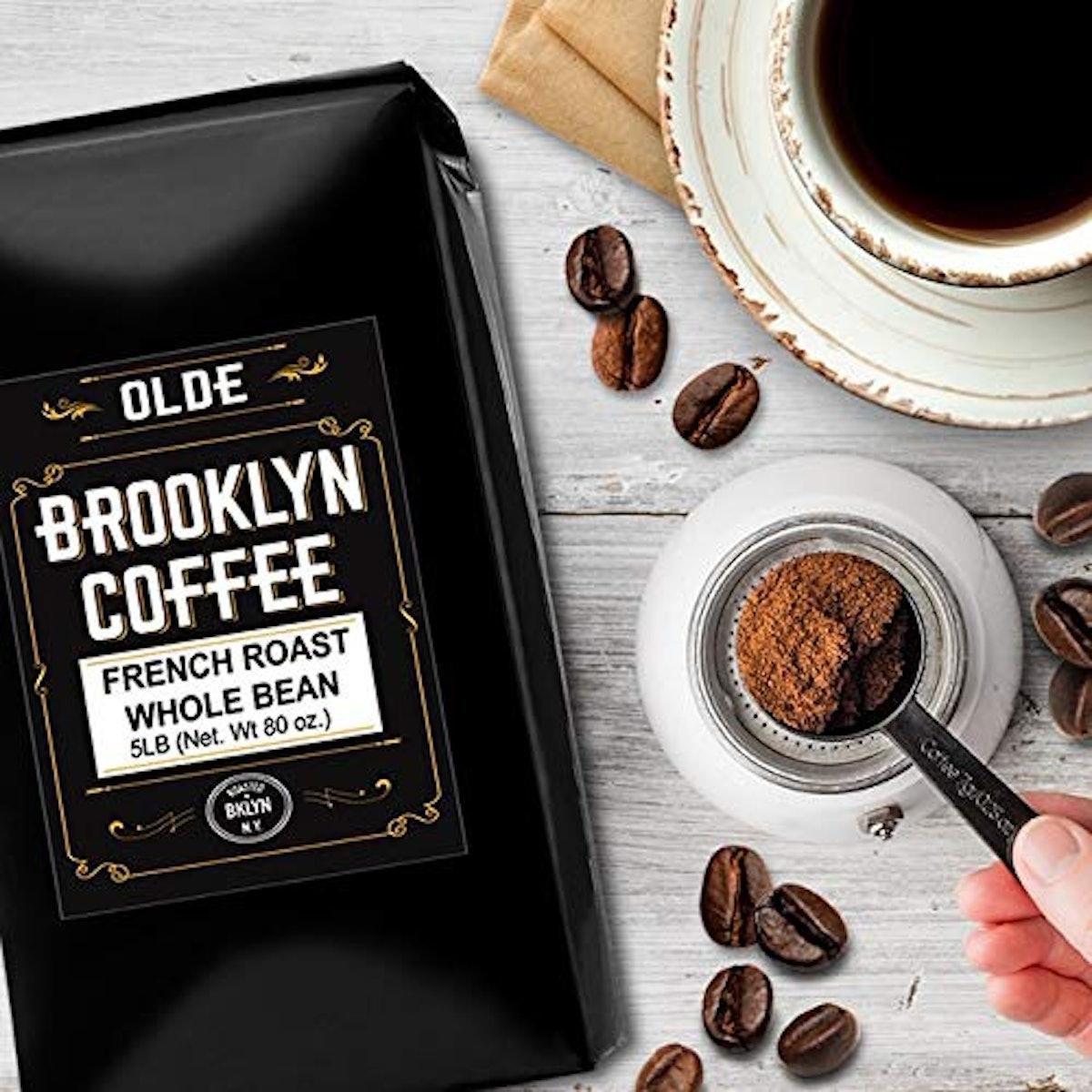 FRENCH ROAST Whole Bean Coffee (5-Pound Bag)