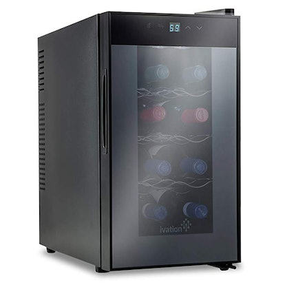 Ivation 8 Bottle Red And White Wine Thermoelectric Wine Cooler