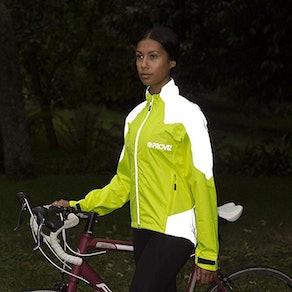Proviz Women's Nightrider Cycling Waterproof & Reflective Jacket 2.0