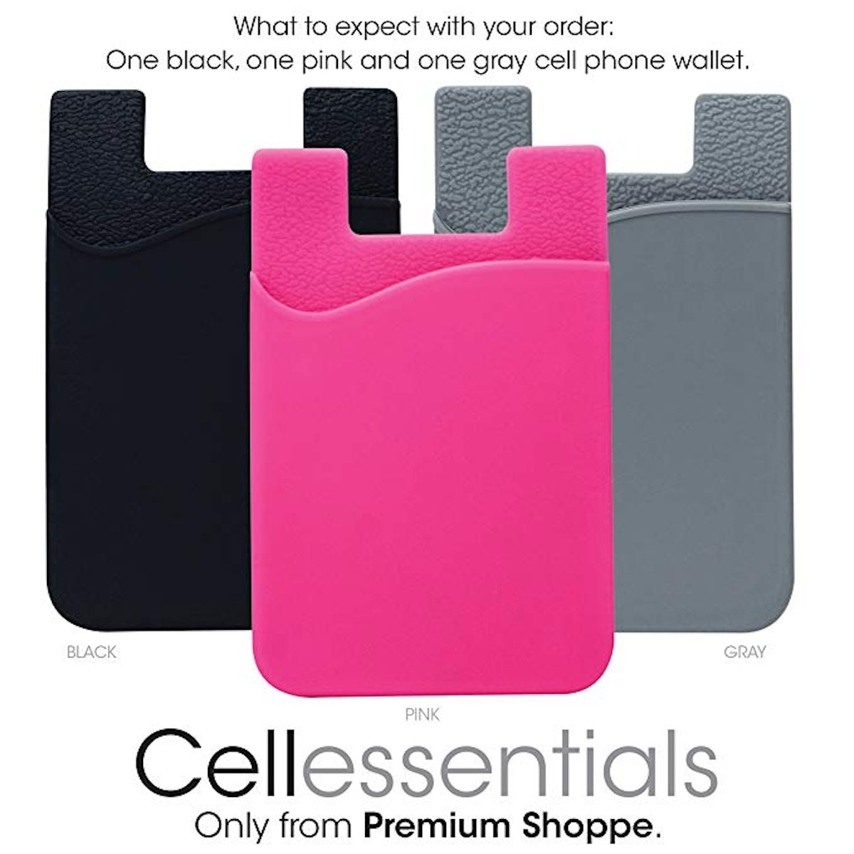 Cell Phone Wallet by Cellessentials