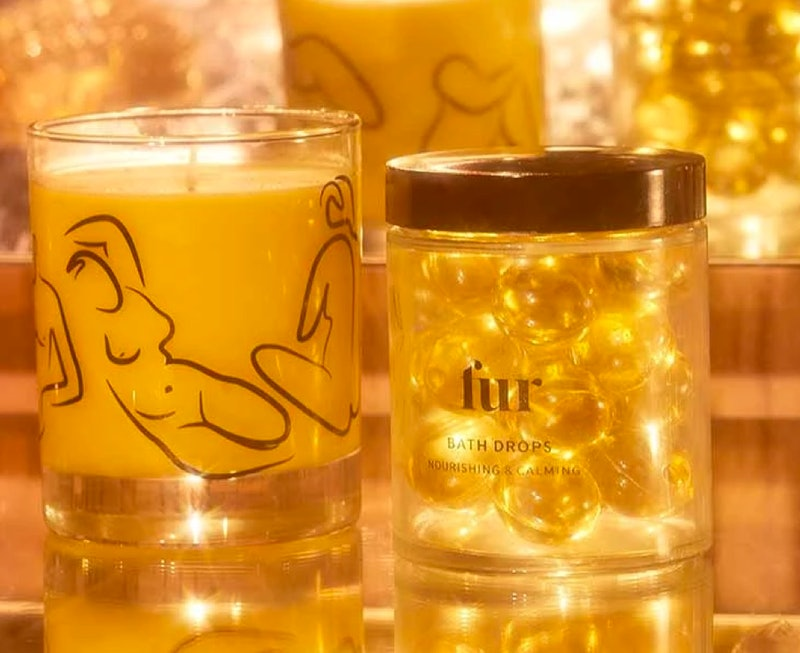 Fur's Bath Bundle will help you feel relaxed during a hectic holiday season.