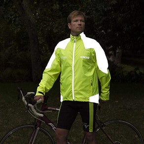 Proviz Men's Nightrider Cycling Waterproof & Reflective Jacket 2.0