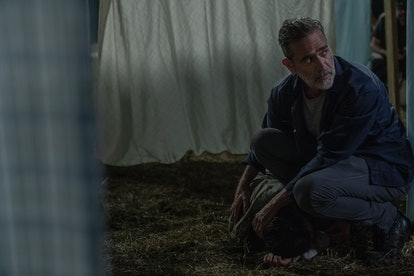 Negan saves Lydia's life on The Walking Dead.