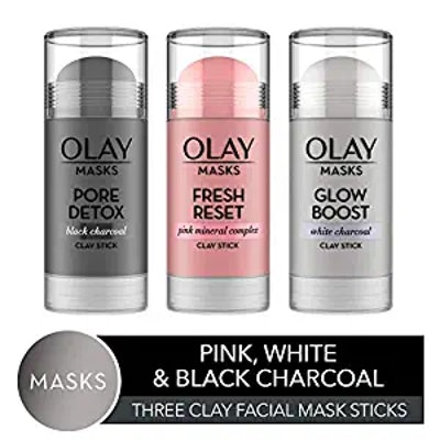 Olay Clay Facial Mask Stick (3-Pack)