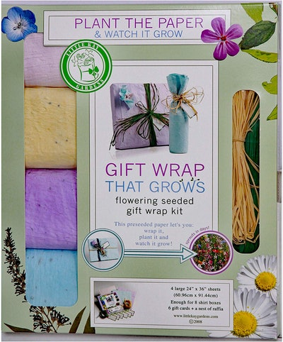 Triumph Plant Seeded Gift Wrap That Grows